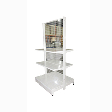 Professional Hanging Wire Back Supermarket Display Shelf with Factory Price