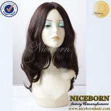 2016 new items 100% unprocessed deep wave virgin brazilian human jewish wig