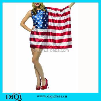 Vrouwen Amerika Streep Usa Jurk Buy Ster Vlag Pn0kwO