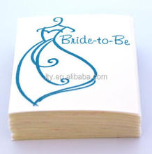 Factory Directly professional company Bride-to-Be Custom Phone Decal sticker