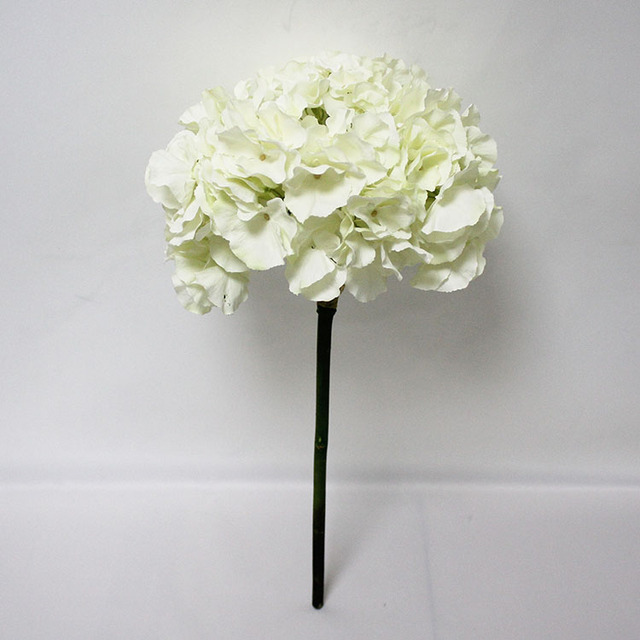 China silk flowers for heads wholesale alibaba sfh44001 hot sales new design artificial white hydrangea big silk artificial flower heads for weeding decoration mightylinksfo