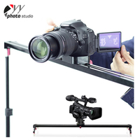 Easy to use 60/80/100/120/150cm aluminum camera track dslr camera cover camera slider