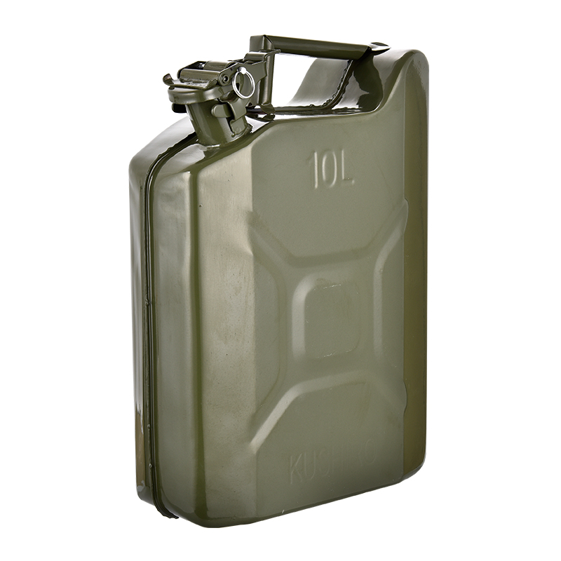 American-Typeprotable Can Jerry 10 Liter Jerry Can ,Metal Reserve Oil Drum