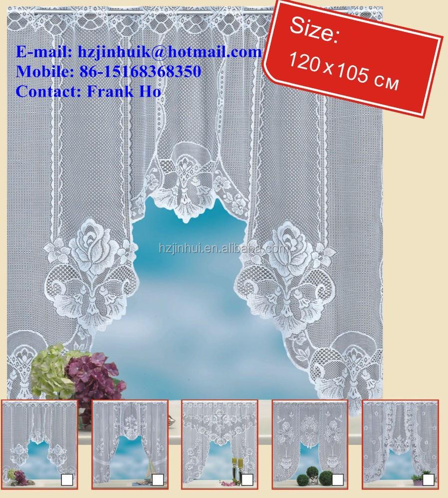 Window Kitchen Half Curtains Valance Drop Design - Buy Half Curtains ...