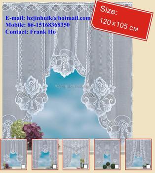 Window Kitchen Half Curtains Valance Drop Design