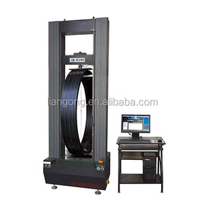 corrugated double-layer pipe circle ring stiffness tester