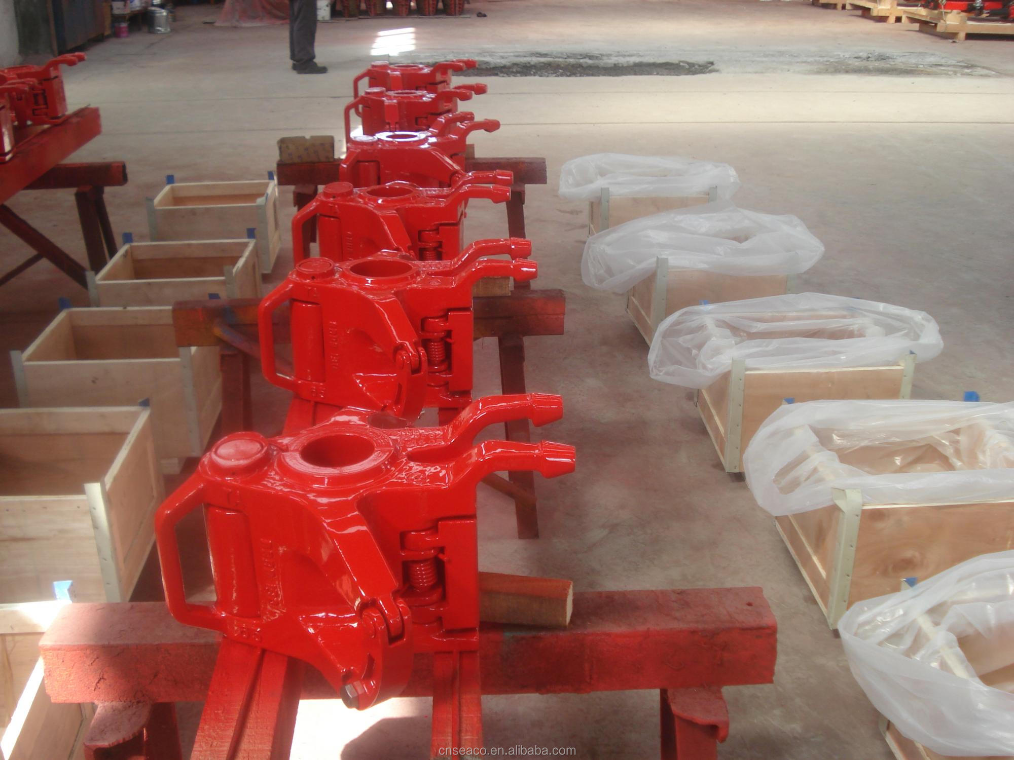 Petroleum API wellhead tool TA and MYT type tubing elevators