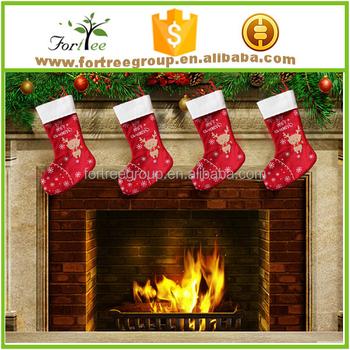 christmas socking decoration christmas stocking holders and blank - Decorative Christmas Stocking Holders