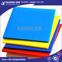 Factory directly offer sealed edge pp plastic corrugated sheet/ board
