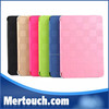 Luxury Roseo Foldable Flip Stand Grid Book cover Soft Leather PU case for iPad mini 1 2 3