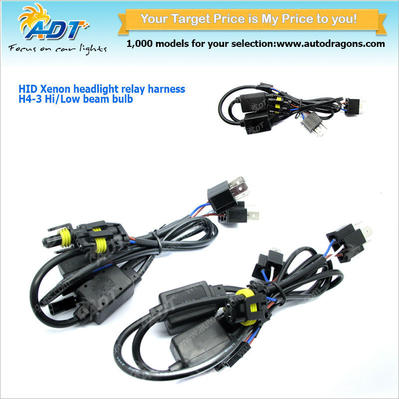 Power Relay 9007 H4 Power Plug 3 Wire Cars Parts For Hyundai Parts