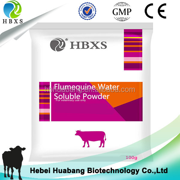 drug medicine finish products Flumequine Water Soluble Powder horse antibiotics