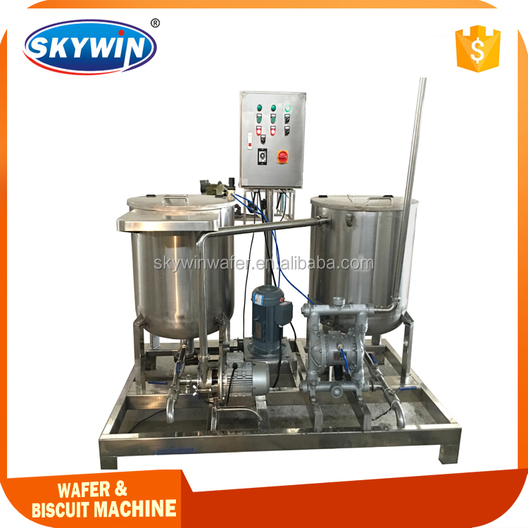 New Design Automatic Batter Mixer For Wafer Biscuit Making