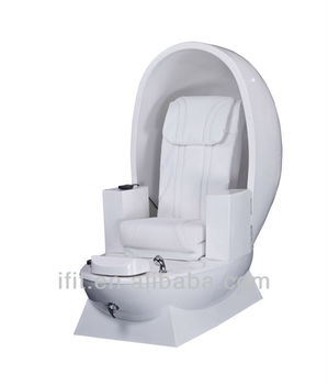 Eggshell Design Spa Pedicure Chair For Wholesale