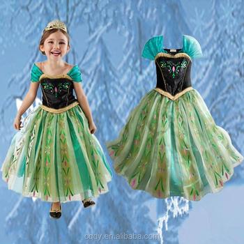 Hot Sale Kinds Of Snow White Princess Dress Girls Dress Frozen Elsa ...