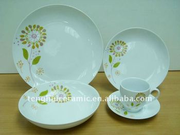 Sun Flower Antique Dinnerware Sets Ceramic & Sun Flower Antique Dinnerware Sets Ceramic - Buy Antique Dinnerware ...