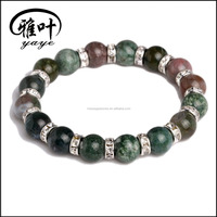 Wholesale Natural Semi-precious Stone Gemstone Chakra Bracelets