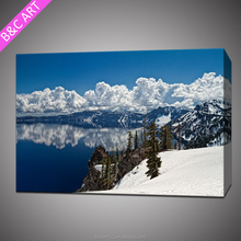 beautiful mountains natural scenery canvas print for dafen painting