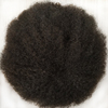 afro kinky curl toupee for black men