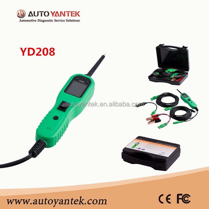 YANTEK YD208 Power PS100 Elektrik Diagnostic Tool Power Sonde Circuit-Tester Werkzeug