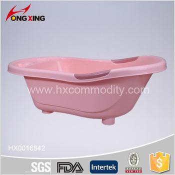 New Arrival Bath Basin Plastic Baby Bath Tub With Outlet Hole ...