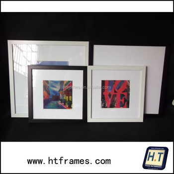 Square Picture Frame With Mat 8x8 10x10 14x14 Buy Square Picture