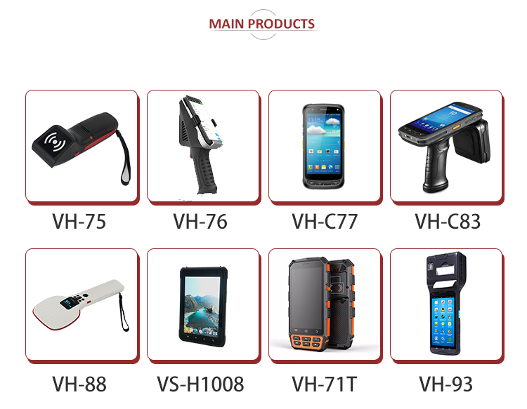 Portabel 2 M RFID UHF Nirkabel Reader dengan SDK