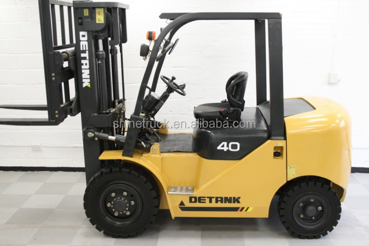 price for 4 ton diesel forklift with solid tyres