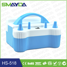 ABS material electric balloon inflator airpump,cheap electric air balloon pump,balloon inflator