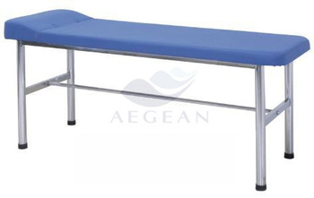 AG-ECC06 popular surface leather portable hospital medical couch examination