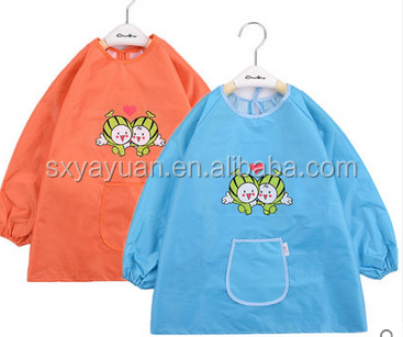 cheap custom logo printing wholesale fashion kitchen cotton children apron
