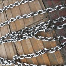 China Factory Supply galvanized thick curb link chain