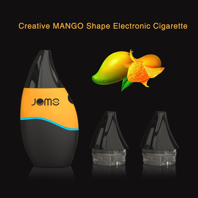 2017 Hot New Products Good taste 30w Jomo Mango smoke electronic ,good Hand-feeling Electronic Cigarette