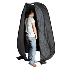 Draagbare Outdoor 1-2 personen <span class=keywords><strong>Opvouwbare</strong></span> Pop Up Tent Camping Strand Wc Douche Dressing Veranderende Kamer Outdoor <span class=keywords><strong>Onderdak</strong></span> 2 venster
