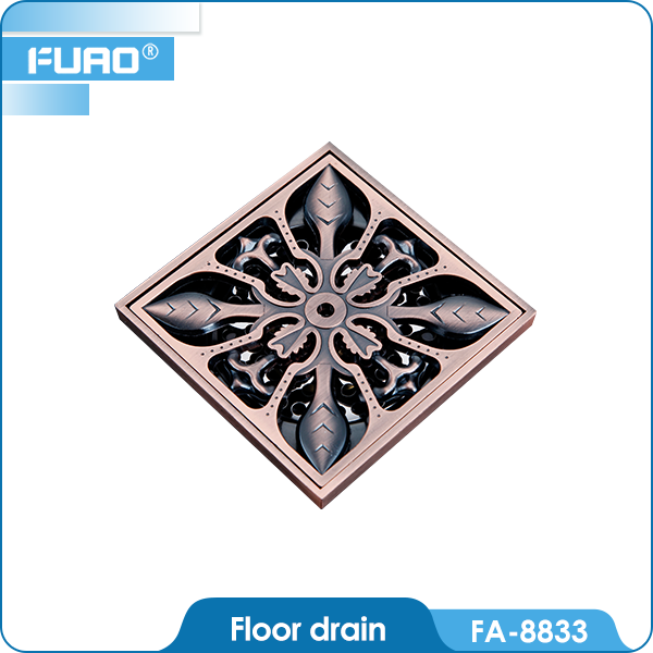 FUAO best-selling High quality stainless rain water drain