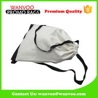 blank canvas backpack bag for school