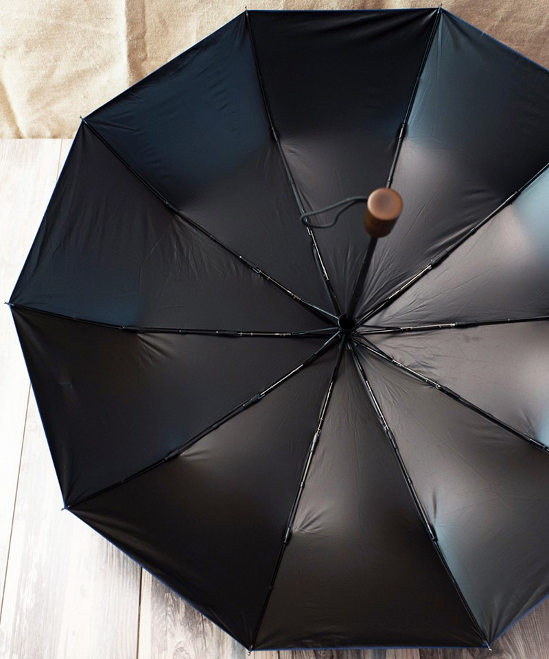 78d76ed862bad8 High Quality Wood Handle Fully Automatic Umbrella 10-Rib Sun Rain Umbrella  For Women Men Super Windproof Anti-UV Large Parasol - us514