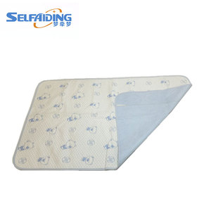 super absorbency adult baby urine basic washable hospital medical under pad mat for new born