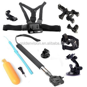 JGJ OEM 8 in 1 Accessories Kit for Gopro Hero 5 4 3 2 1