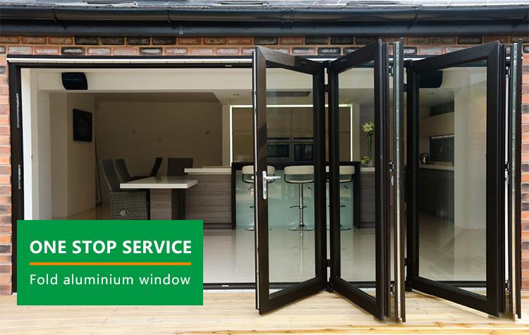 buy courtyard slim aluminium profile screen glass doors lowes glass folding sliding aluminium accordion single folding doors
