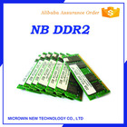 full compatible notebook ram ddr2 1GB 2GB 4GB 667mhz 800mhz