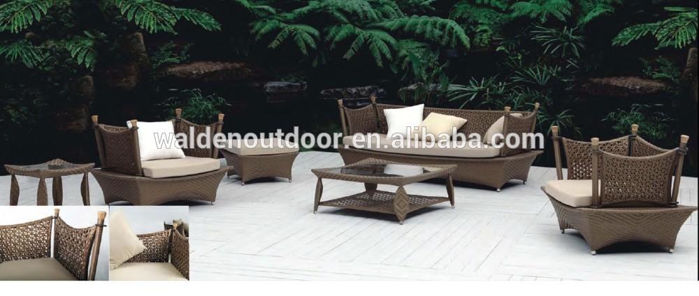 Ikea gartenmöbel rattan  Billige outdoor ikea gartenmöbel weide rattan sofa( DH- 9665)-Set im ...