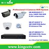 Economical and cheap ipc surveillance system4 Cameras 1080P NVR System Kits