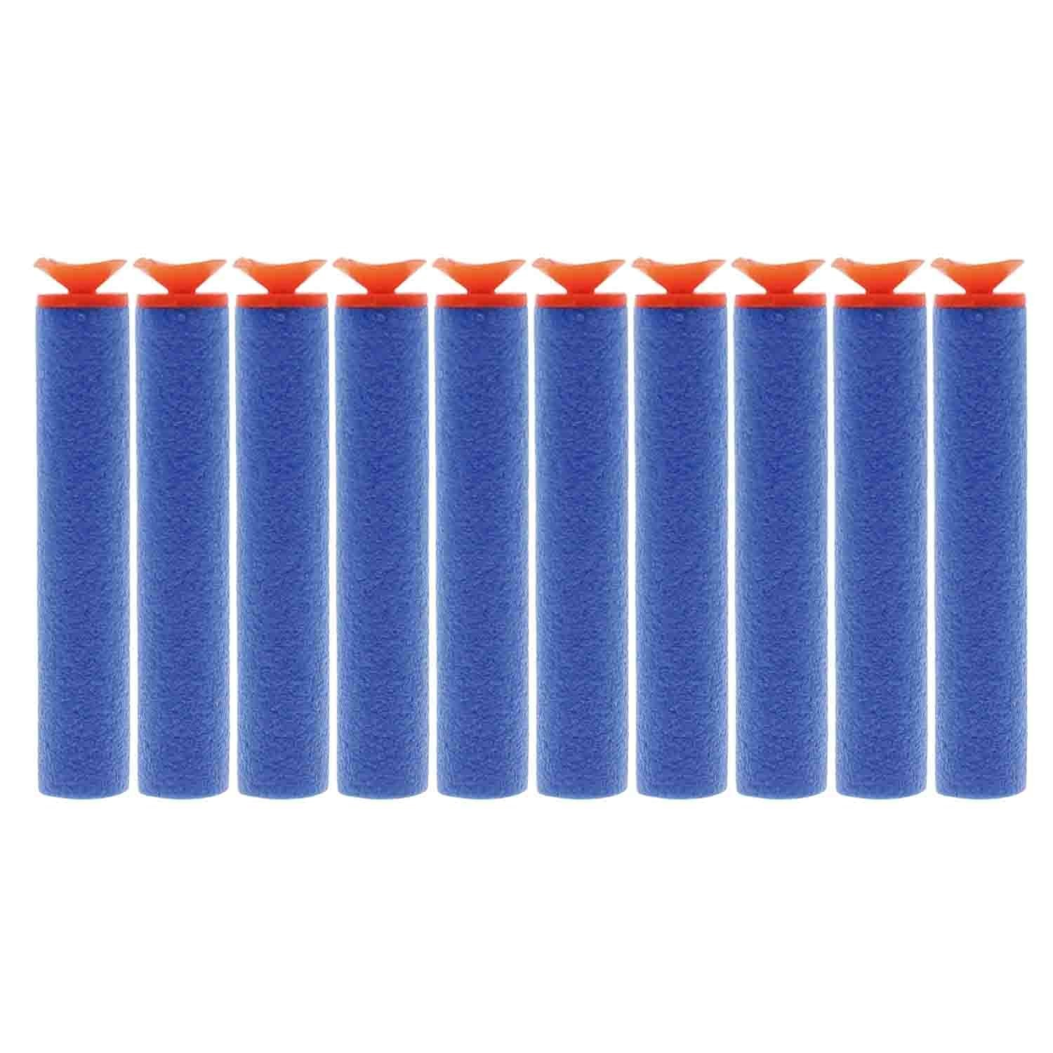 AMTION 100pcs 7.2cm Refill Bullet Universal Suction Darts for Nerf N-Strike Elite Series Blasters Toy Gun Nerf Ammo
