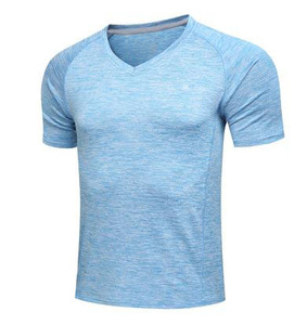 very cheap latest new model overseas t shirts less than 1 dollar unbranded fitness clothing bulk blank long length t-shirts