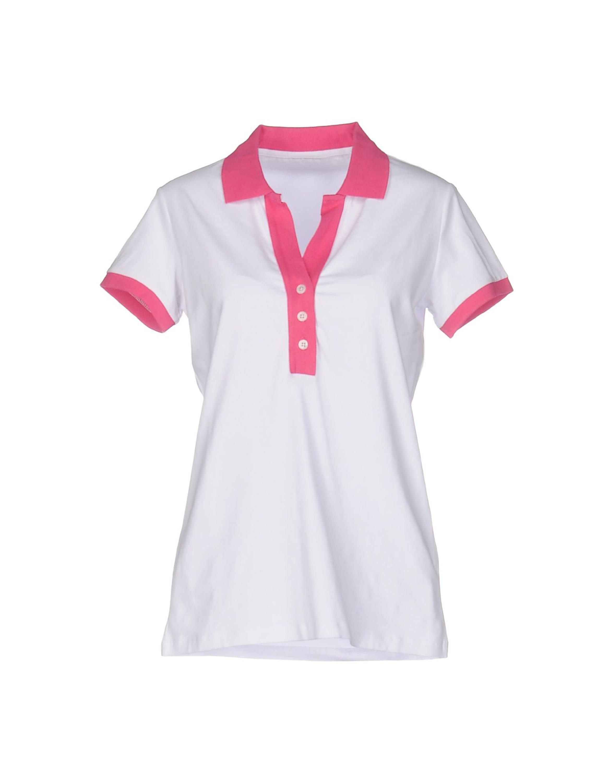 c1075ec808f Manga corta de color combinación collar diseño para mujer Camisas de golf