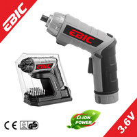 EBIC OEM Power Tools 3.6V cordless drill set Lithium-Ion Battery Cordless Screwdriver set