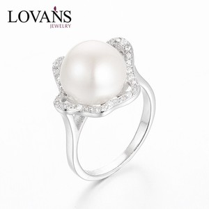 8c298cd212669 Fashion Silver Pearl Ring Designs For Men SRE165W