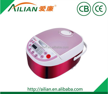 2017 New Promotion pars Automatic digital Electric square shape computer Rice Cooker with steam Hot Sell