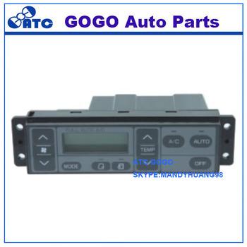 Gogo High Quality A/c & Heater Control-hvac Control Panel For Excavator -  Buy Hvac Control Panel,Water Heater Control Panel,Excavator Control Panel